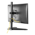 equip 650122 articulating monitor floor stand 1x8kg 13  32 black extra photo 3