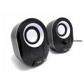 equip 245333 stereo 20 speakers black white extra photo 1