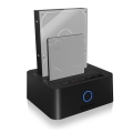 raidsonic icy box ib 123cl u3 2 bay docking and clone station for 25 35 sata hdd ssd extra photo 3
