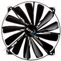 aerocool dark force fan 200mm black extra photo 1