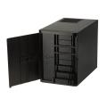 silverstone sst ds380b external aluminum 8 bay nas chassis extra photo 3