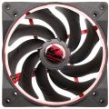 alpenfoehn wing boost 2 plus 140mm pwm fan red extra photo 1