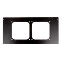 lian li d8000 1b mounting frame for 120mm fan black extra photo 1