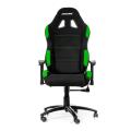 akracing gaming chair black green extra photo 1