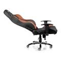 akracing premium gaming chair black brown extra photo 1