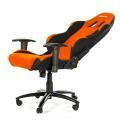 akracing prime gaming chair orange black extra photo 4
