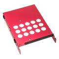 lian li hd 07r drive cage for hdd red extra photo 2