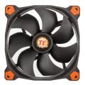 thermaltake riing 14 140mm led fan orange extra photo 1