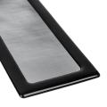 demciflex dust filter 260mm x 80mm black black extra photo 1