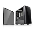 case thermaltake view 21 tempered glass edition black extra photo 1