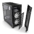 case phanteks enthoo pro m special edition tempered glass black white interior extra photo 2