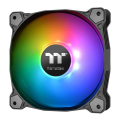 thermaltake pure plus 12 led rgb radiator fan tt premium edition 120mm 3 fan pack extra photo 2