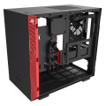 case nzxt h210i mini itx tower black red extra photo 4