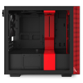 case nzxt h210i mini itx tower black red extra photo 5