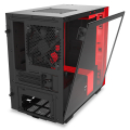 case nzxt h210i mini itx tower black red extra photo 6