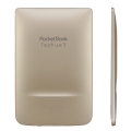 pocketbook touch lux 3 pb626 6 e ink carta hd ereader wi fi gold extra photo 2