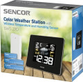sencor sws 270 color weather station with wireless temperature and humidity sensor extra photo 1