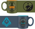 halo set 2 mini mugs 110ml masterchief vs locke extra photo 1