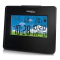 greenblue gb148b weather station clock moon calendar black extra photo 2