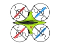 quad copter diyi d3 24g 5 channel with gyro green extra photo 1