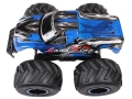 rc monster truck lk series racing land king 1 8 24g blue extra photo 2