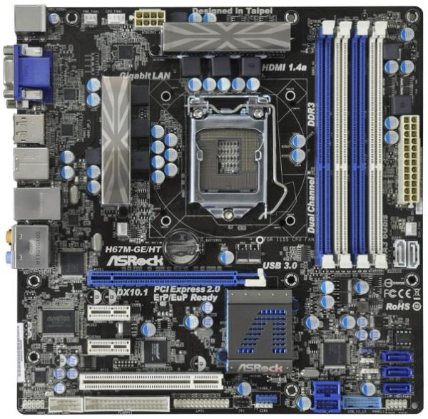Asrock H67M-GE Instant Boot Drivers for Windows