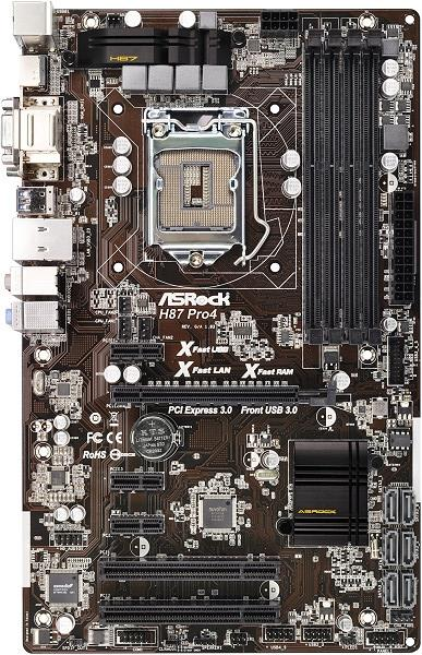 ASRock H87 Pro4 XFast USB Treiber Windows 10