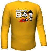 gamerswear gaming nation longsleeve yellow xxl photo