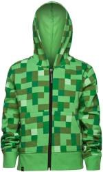 jinx minecraft creeper no face zip up youth hoodie 9 10 years kids photo