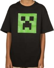 jinx minecraft creeper glow youth tee 13 14 years kids photo
