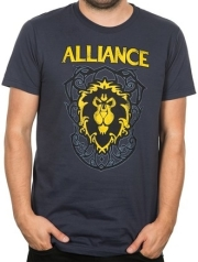 jinx wow alliance crest version 3 premium tee xxxl photo