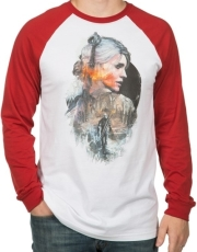 jinx witcher ciri men s raglan s photo