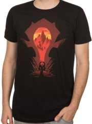 jinx wow horde silhouette premium tee xl photo