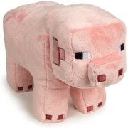 jinx minecraft 30cm pig plush pink photo