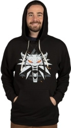 jinx witcher wolf pullover hoodie m photo