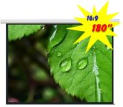 brateck peaa180 economy budget electric projection screen 180 16 9 photo