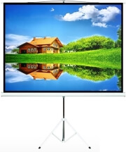 maclean mc 536 projection screen with tripod 72 4 3 145x110cm photo