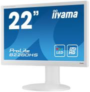 othoni iiyama prolite b2280hs w1 215 led full hd with speakers white photo