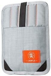 crumpler softcase webster sleeve 79 metallic silver photo