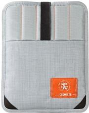 crumpler softcase webster sleeve for tablet 101 metallic silver photo