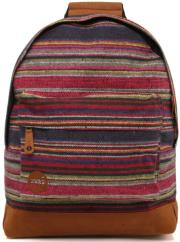 sakidio mi pac peruvian stripe 17l dark red green photo