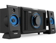 ivoomi ivo 2590suf speakers 21 with fm and remote control photo