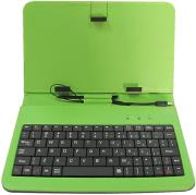 rebeltec ks101 tablet case with keyboard 101 green photo