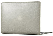 speck macbook air 13 smartshell clear with gold glitter photo