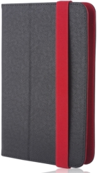 "GREENGO UNIVERSAL CASE ORBI FOR TABLET 7-8"" BLACK/RED"