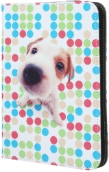 GREENGO UNIVERSAL CASE PUPPY FOR TABLET 7-8""