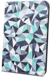 greengo universal case geometric grey for tablet 7 8  photo