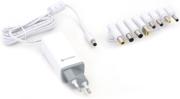 platinet plcl65w laptop charger 65w 8 tips white photo