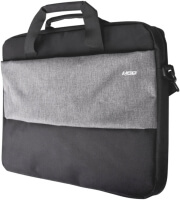 nod style 173 laptop bag black grey photo