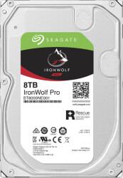 hdd seagate st8000ne001 ironwolf pro nas 8tb 35 sata 3 photo